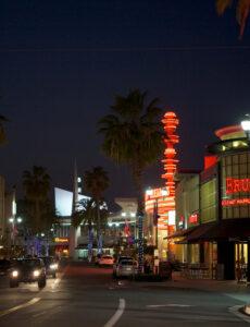 Downtown Brea nightlife